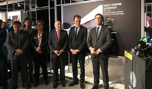 The Spanish Ministre for Science, Innovation and Universities inagurate an exposition in which Aitiip participates with a 3Dprinted motorbike
